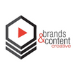 Brands and Content Creative Logo